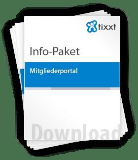 Info Paket Mitgliederportal