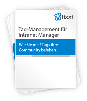 Tag-Management für Intranet Manager