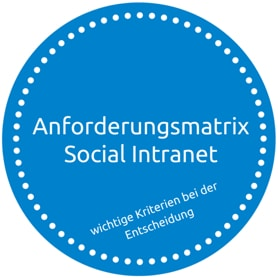 Anforderungsmatrix Social Intranet
