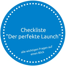 "Checkliste ""Der perfekte Launch"""
