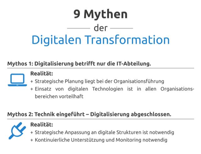 Aus dem Weg geräumt – Neun Mythen der Digitalen Transformation