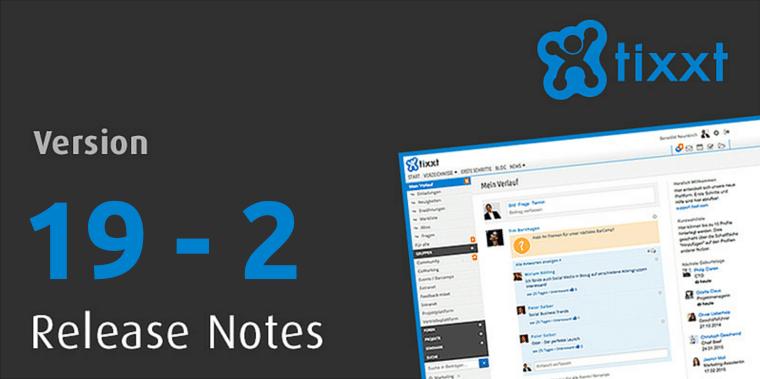 tixxt Release Notes 19-2