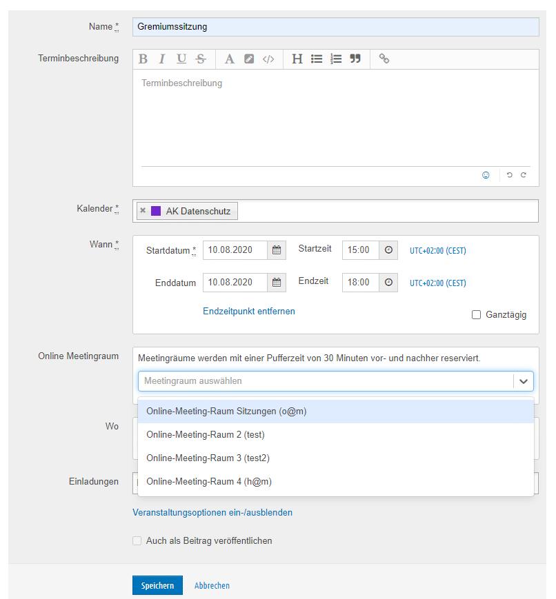 GoToMeeting-Termin erstellen