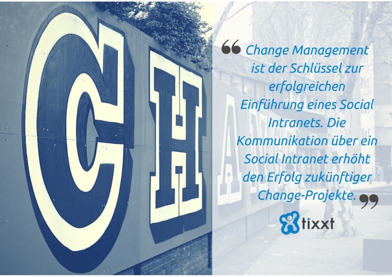 Change Management und Social Intranet